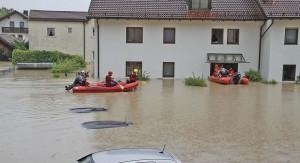 Evakuierung in Freilassing Quelle: Salzburg24.at