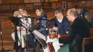 Melanie Eckschlager, Maria Zehner, Peter Ebner und Andreas Meier als Kräutler Band - Cool