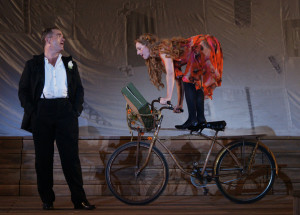So hätten wir sie gern gesehen –diesmal gabs Brigitte Hobmeier ohne Radl-Akrobatik