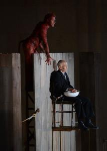 Teufel und Glaube – man siehts hier nicht, aber das spielte sich in schwindelnden Höhen ab