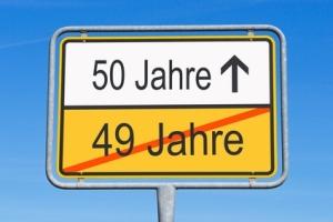 50 Jahre - Jubiläum und Geburtstag