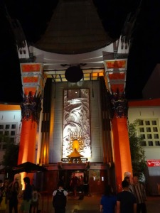Das Chinese Theater in Hollywood –  schon das Kino selbst sollte eine exotische Welt sein