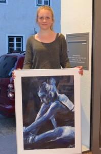 Mirijm Jahn kam über Empfehlung zur Galerie. Fotos (6): Harald Saller