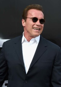 Hat noch immer gut Lachen: Arnold Schwarzenegger  (Photo by Kevin Winter/Getty Images for Paramount Pictures)