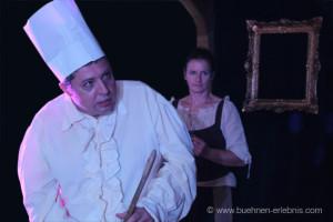 Arnold Niederhuber als unterwürfiger Koch