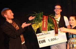 Gerhard Scheidler Präsentiert den Preisträger Martin Frank