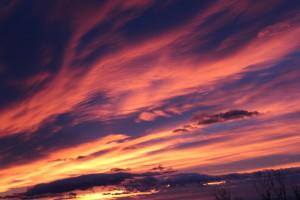 Sonnenaufgang auf der Quelle zartbitter Peter Christian Ebner