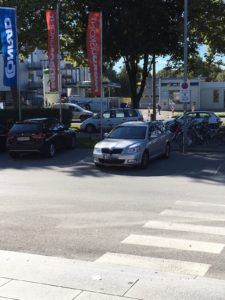 Falschparker am Behindertenparkplatz –ein besonderes Ärgernis. Vor allem, wenn man dann noch beschimpft wird